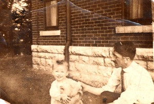Uncle Chud and my grandfather, Dennis J. Scannell