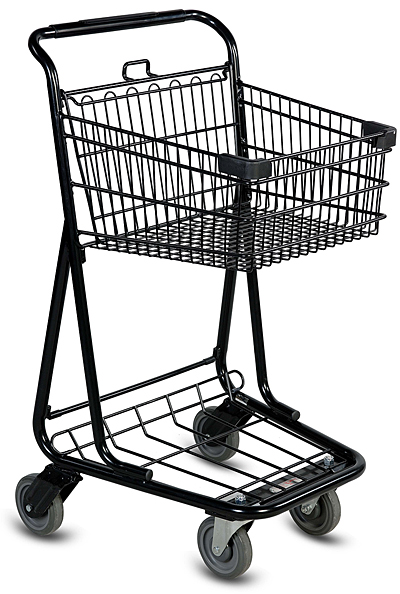 Metal Shelter Grocery Cart : Reprise of a pet peeve whatever works