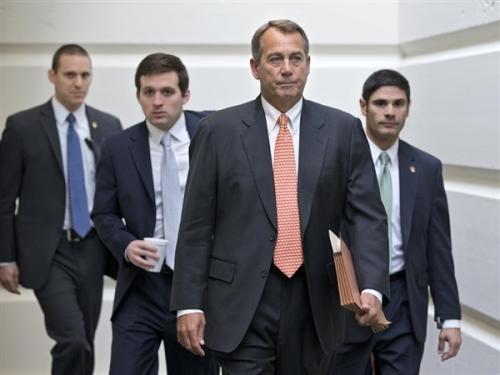 boehner ties